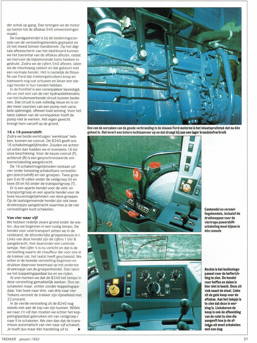 Ford serie 40 impressie door Leo Hanse