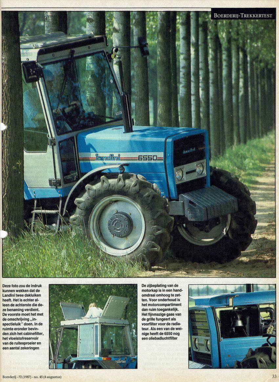 Landini 6550 Boerderij test door Henk Beunk