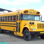 Blue Bird bus