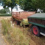 Claas Opraapwagen